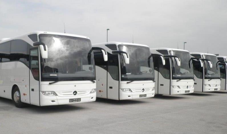 Schärding rent coaches: motorcoach charter with bus